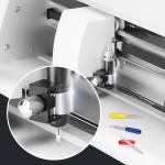 Enpoint Vinyl Cutting Blades, 30 PCS Cutting Blades for Cricut Explore Air/Air 2 Maker Expression 30/45/60 Degree Cutting Plotter Blade Deep Cut Vinyl Fabric Cutting Replacement Blades