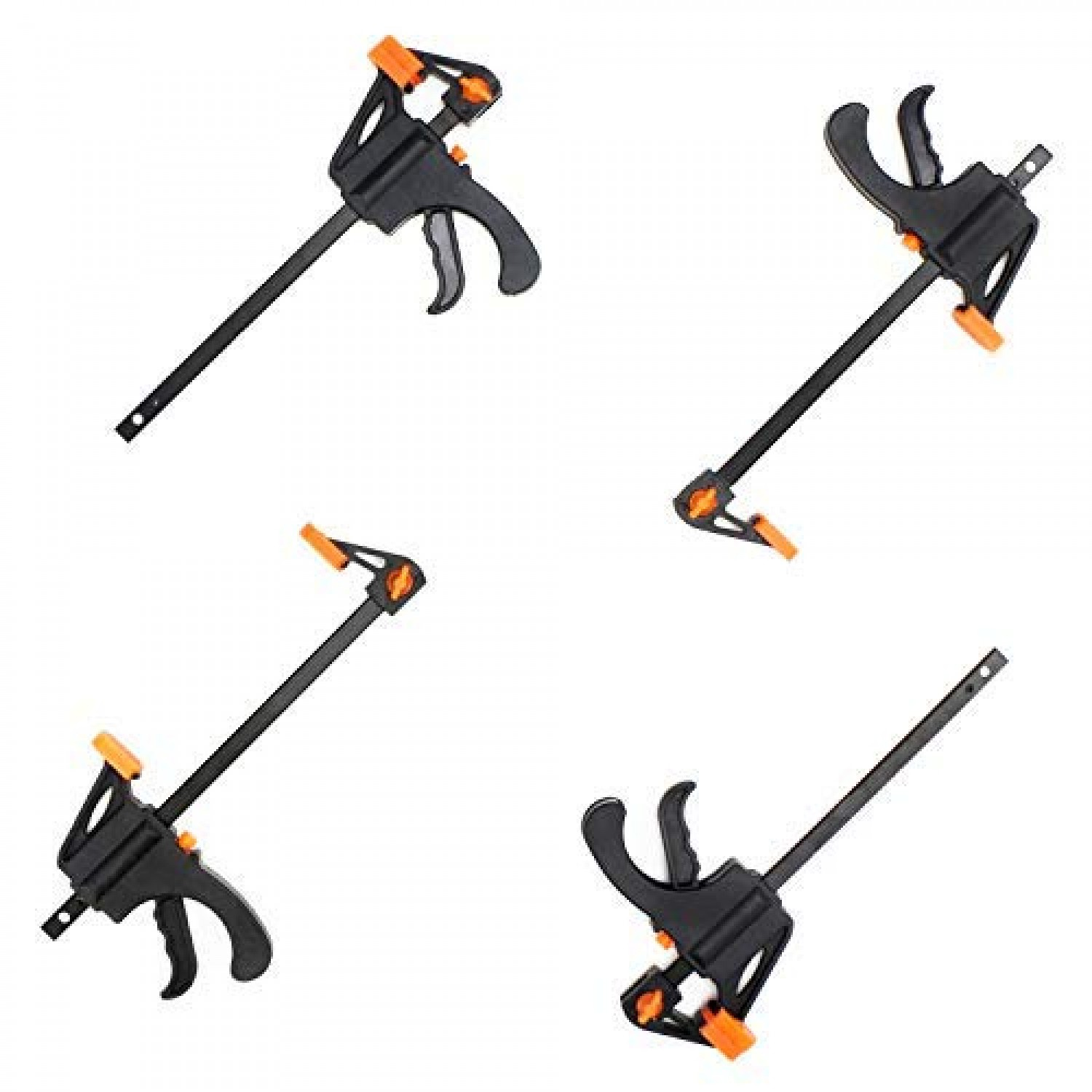Collectibles Collectible Tools Hardware Locks Collectibles Orange Adjustable 4 F Woodworking Clip Quick Grip Clamps Wood Carpenter Tool Collectible Tools Zsco Iq