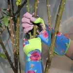 Garden Gloves Long,ENPOINT Rose Gardening Gloves With Puncture Resistant For Gardeners For Woman, Long Sleeve Gardening Gloves Pruning Thorn Proof Protection For Planting Yard Work, Blue