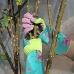 Rose Gardening Gloves, ENPOINT Gardening Gloves With Long Sleeve Puncture Resistant, Professional Rose Pruning Thorn proof Gardening Gloves For Pulling Weeds And Trimming Roses, Green